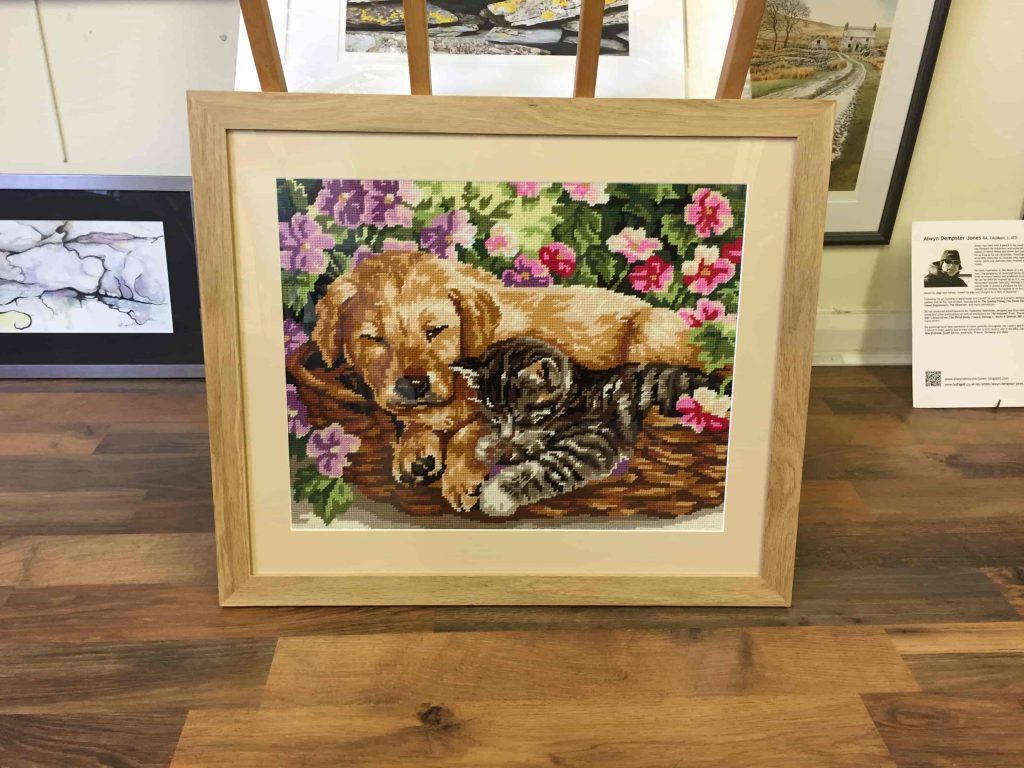 Tapestry, cross stitch framing-2-min