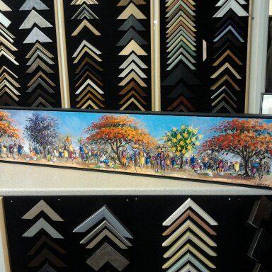 Canvas box framing-6-min