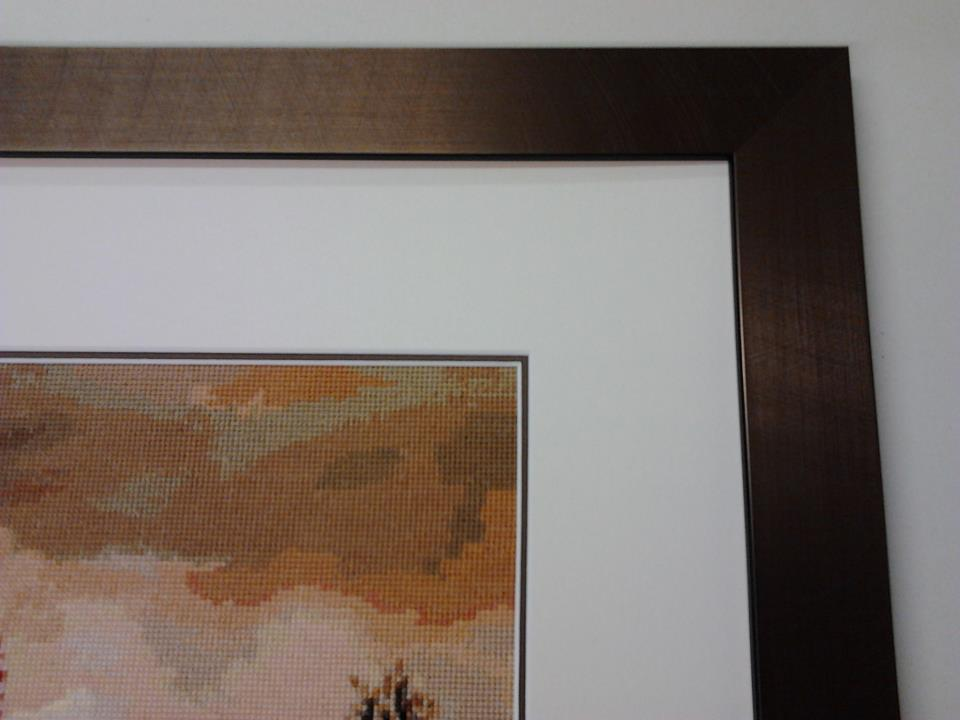 Tapestry, cross stitch framing-5-min