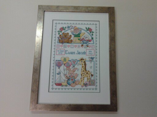 Tapestry, cross stitch framing-8-min