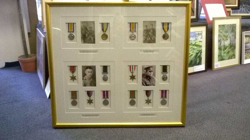 medals & coin framing-min
